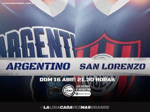 argentino venció a san lorenzo