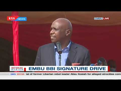 """You cannot be a little bit pregnant"", Senator Moi drums up support for BBI in Embu 