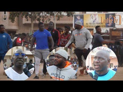 Open Press Franc avec Modou Lô, Batika, Papa Sow, Balla Diouf et Diabong combat contre Tyson 2