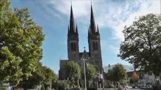 preview picture of video 'Ottersweier Pfarrkirche St. Johannes (Außenaufnahme) am 12.10.2014, Sonntag'