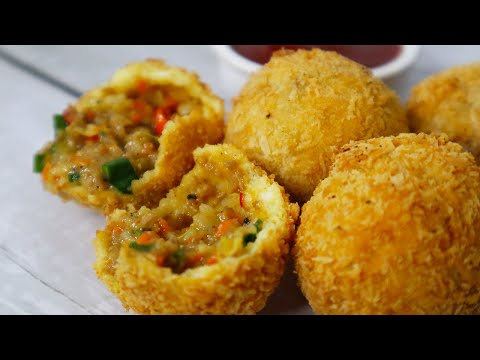 Chicken Chinese Cheese Balls Recipe by Cooking with Benazir