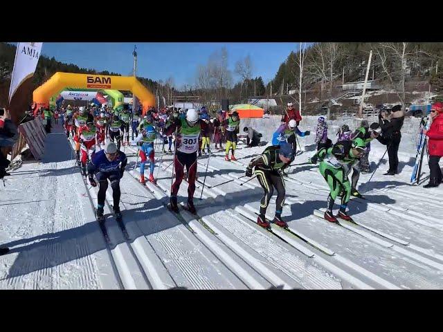 В Ангарске состоялся марафон Стройкомплекс БАМ Russialoppet