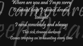 Blink 182 - I Miss You ( Lyrics)