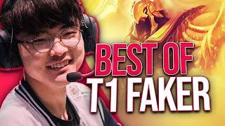 Le best of spécial de Faker, le midlaner des T1