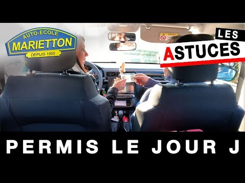 Marietton Astuces - Le jour J (examen pratique du permis de conduire)
