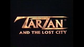 TARZAN AND THE LOST CITY MOVIE TRAILER VHS 1998