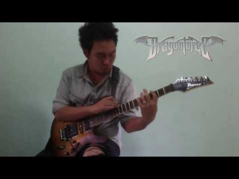 DragonForce Through the Fire and Flames Guitar Cover