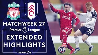 Liverpool v. Fulham   PREMIER LEAGUE HIGHLIGHTS   3/7/2021   NBC Sports