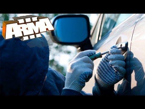 АДМИН угнал тачку у гопников и сдал бандитов в полицию! (бан гопнику еще дал) - ArmA 3 Altis Life