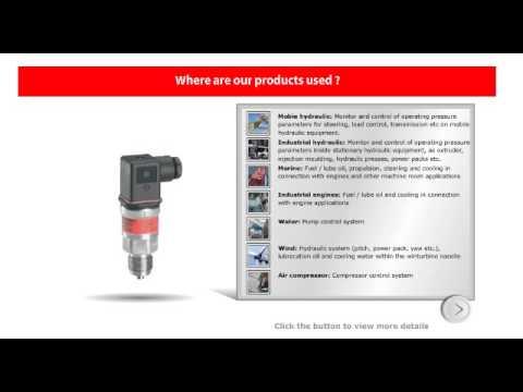 Danfoss Pressure Transmitter MBS6300 MBS3000 MBS4050  MBS5150