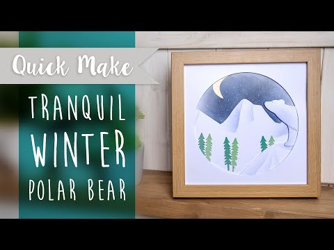 Winter Polar Bear - Sizzix