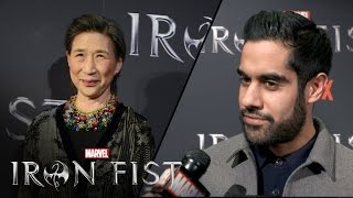 Wai Ching Ho & Sacha Dhawan on Marvel's Iron Fist