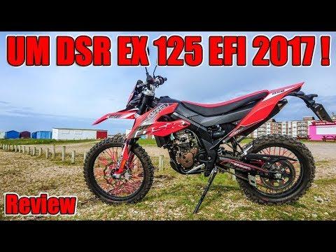 UM DSR EX 125 EFI 2017, Enduro Motorcycle Review!