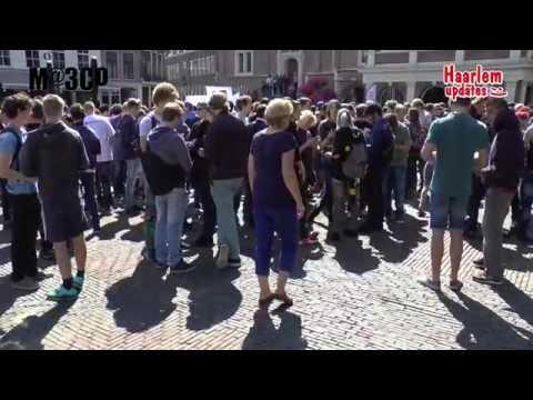 Pokémon event op de Grote Markt in Haarlem