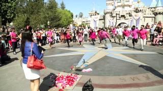 Best Proposal EVER! Disneyland Bollywood Bhangra Flashmob!