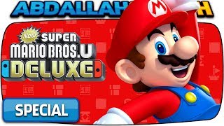 ALL SPECIAL CHALLENGES 🏆   New Super Mario Bros U Deluxe (Nintendo Switch)