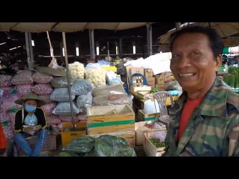 Pakse Market Laos  Talat Dao Heuang 2016