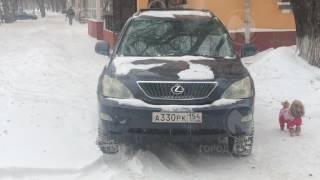 Водителя Lexus предупредят или оштрафуют