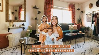 DIY Office + Guest Room Combo For Under $400 | Mama Shocks New Office!