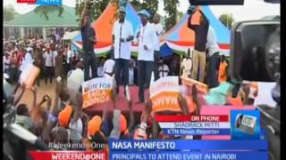 NASA gears up to unveil manifesto in Nairobi