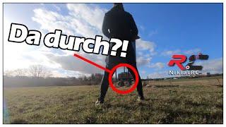 Mit 200 km/h Drohne ZWISCHEN den BEINEN DURCH! -FPV Drohnen VLOG + Cinematic Aufnahmen