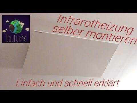 Infrarotheizung Montieren/Installieren/Anbauen | Funktionsweise Der Neuen Effizienten Heizmethode
