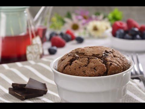 Soufflé Fácil De Chocolate Oscuro