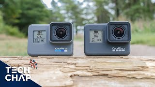 GoPro Hero 7 Black vs Hero 6 Black - What's New? | The Tech Chap