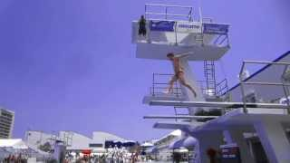 New! He Chao Diving, Grand Prix Ft. Lauderdale 2013, Men's 3m Final, He Chong's Younger Brother