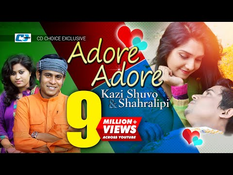 Adore Adore | Kazi Shuvo | Sharalipi | Vabna | Asif Khan | Delwar |  Bangla Hits Music Video