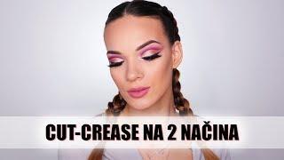 Makeup recept | Cut crease na 2 načina 😂