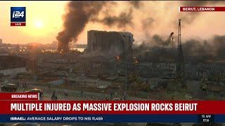 78 mrtvých a 4 000 zraněných při masivní explozi v Bejrútu