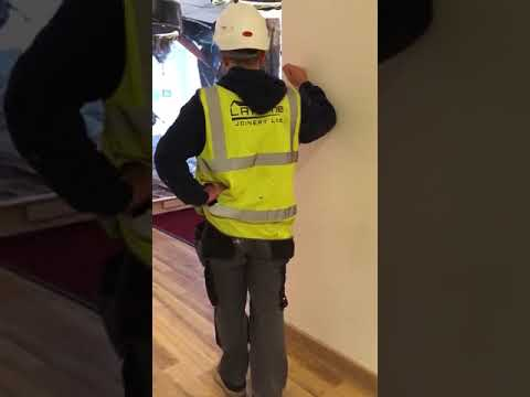Guy Destroys Construction Site After Not Getting Paid