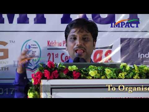 Blogging Tricks | Sai Satish | TELUGU IMPACT Warangal 2017