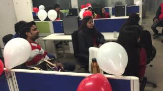 Antakshari Competition In Office