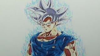 Dibujo De Goku Ultra Instinto Videos