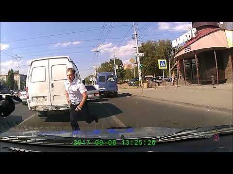 Погоня полиции за пьяным лихачем в Волгограде