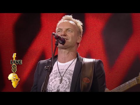 Sting - Every Breath You Take (Live 8 2005)