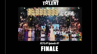 REPLAY OFFICIEL  - L'Afrique a un incroyable talent  -  La FINALE