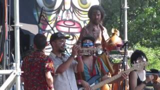 Newen Afrobeat - Upside Down (Cover Fela Kuti) - Festival Woodstaco 2017 (Escenario Rock).