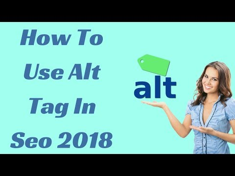 How to use alt tag in seo