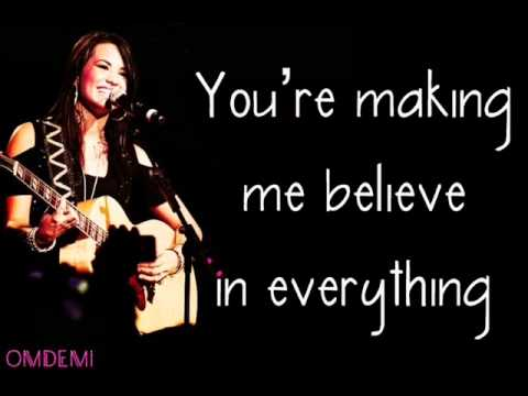 Demi Lovato - Unbroken with Lyrics