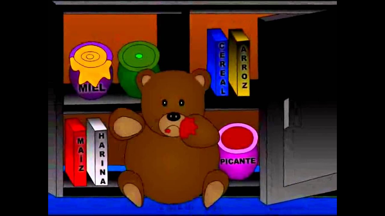 El oso y la muñeca. Cuento Infantil.