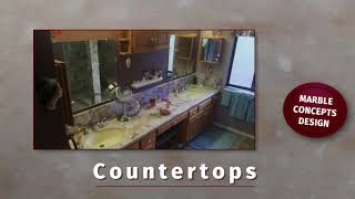 Countertops For Kitchen Remodeling And Vanities For Bathroom Projects: Home Improvement Services