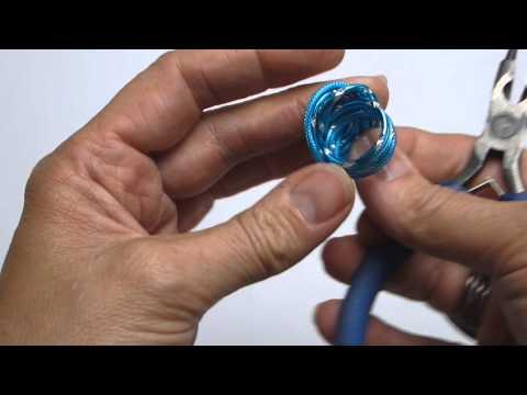Workshop Ring van Aluminium draad