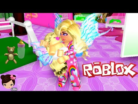 Adopting a Baby Fairy in Roblox Enchantix High Roleplay - Titi Games
