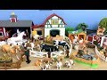Download Lagu Farm Animals For kids- Review toys Animals Donkey Horse Goat Duck Cow - Lot of Toys Mp3 Free