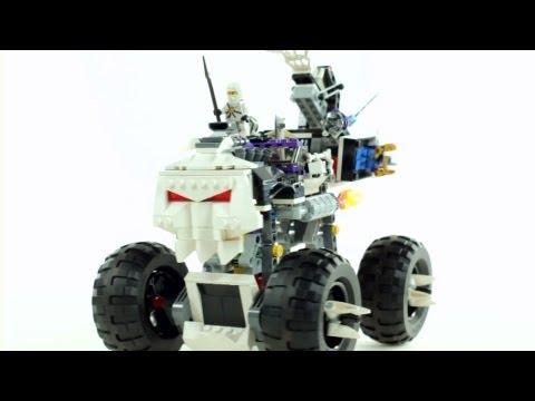 Vidéo LEGO Ninjago 2506 : Le 4x4 squelette