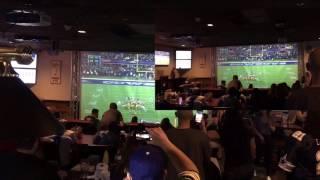 Cowboys vs Packers fan reaction