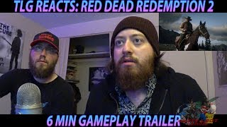 RED DEAD REDEMPTION 2 GAMEPLAY REACTION! (TLG REACTS)